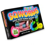 Nuclear Sqworms Sour Neon Worms