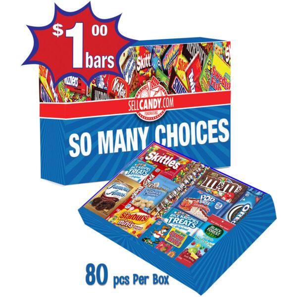 1 dollar selection box