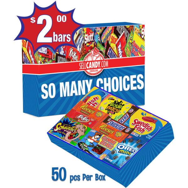 2 dollar selection box